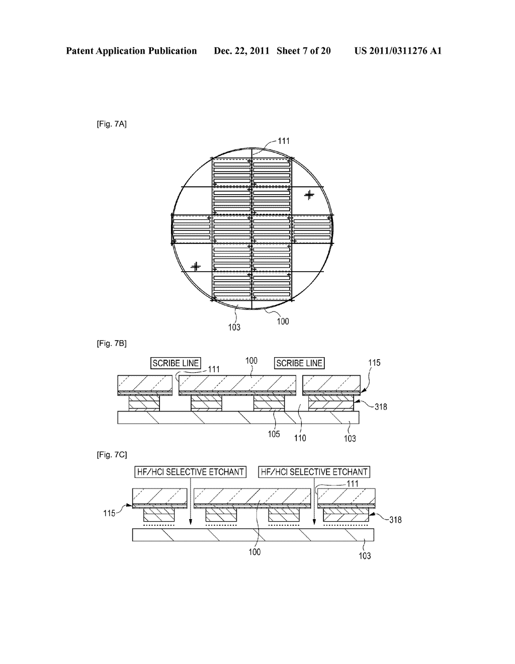 METHOD FOR TRANSFERRING FUNCTIONAL REGIONS, LED ARRAY, LED PRINTER HEAD,     AND LED PRINTER - diagram, schematic, and image 08