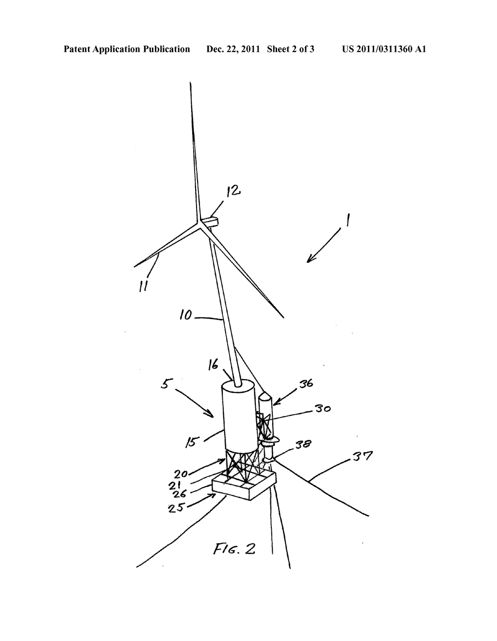 Offshore Wind Turbine Diagram Offshore Wind Turbine