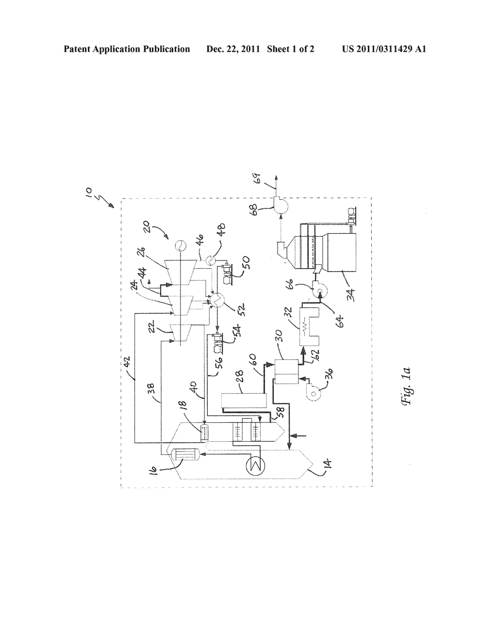 Method For Removing Co2 From Coal Fired Power Plant Flue Gas Using Diagram Ammonia As The Scrubbing Solution With A Chemical Additive Reducing Nh3 Losses