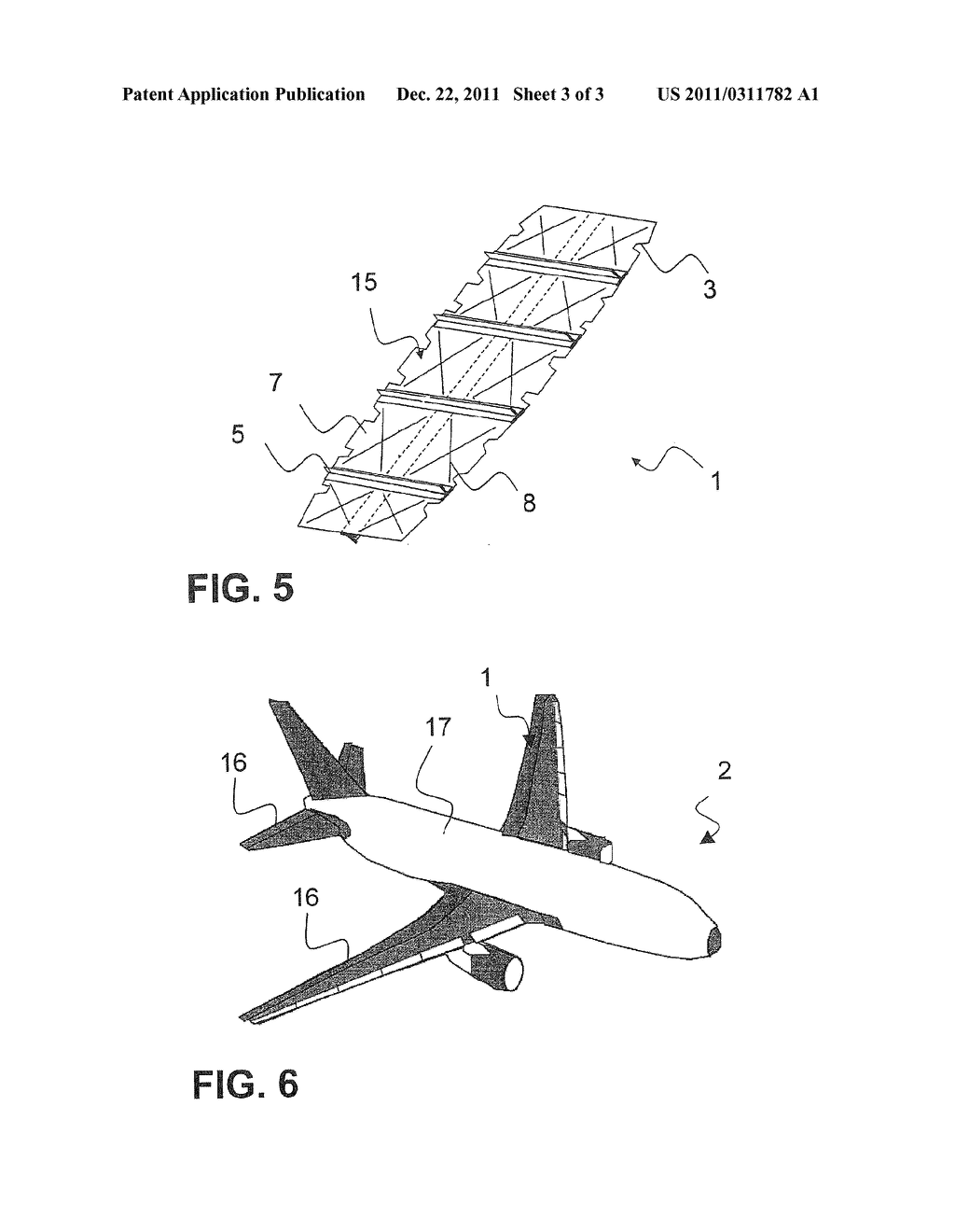 PLANAR COMPONENT OF AN AIRCRAFT AND METHOD FOR PRODUCING THE SAME - diagram, schematic, and image 04