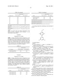 HEAT-SENSITIVE COATING COMPOSITIONS BASED ON RESORCINYL TRIAZINE     DERIVATIVES diagram and image
