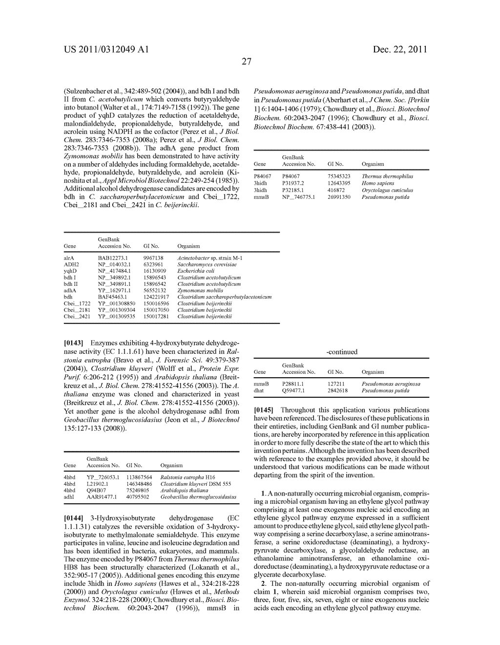 MICROORGANISMS AND METHODS FOR THE PRODUCTION OF ETHYLENE GLYCOL - diagram, schematic, and image 31