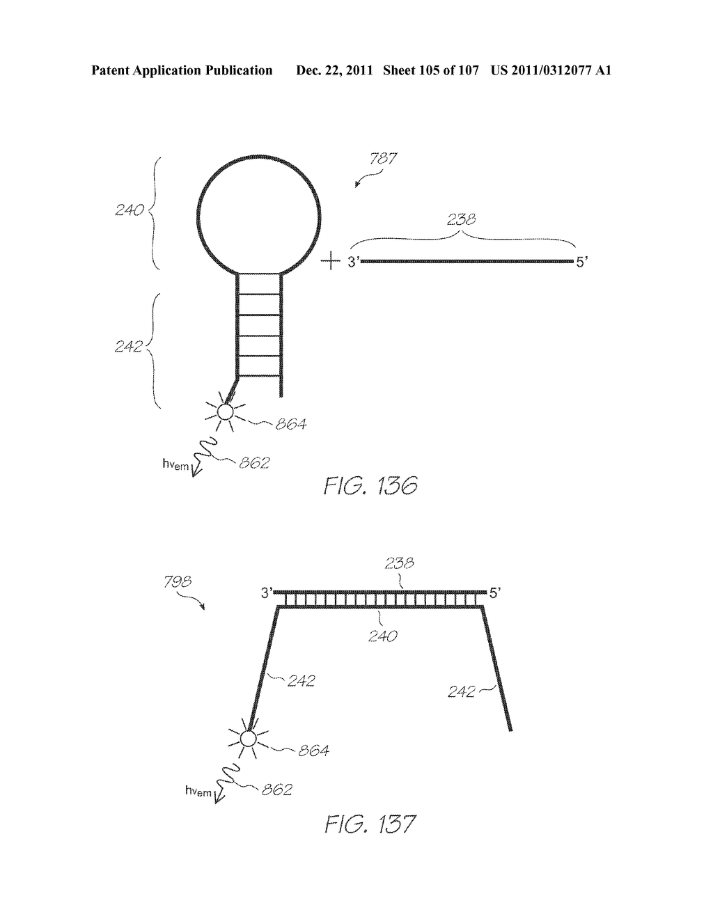 LOC DEVICE FOR ELECTROCHEMILUMINESCENT DETECTION OF TARGET NUCLEIC ACID     SEQUENCES IN A FLUID WITH CALIBRATION CHAMBER CONTAINING PROBES DESIGNED     TO BE NON-COMPLEMENTARY WITH ANY NUCLEIC ACID SEQUENCES IN THE FLUID - diagram, schematic, and image 106
