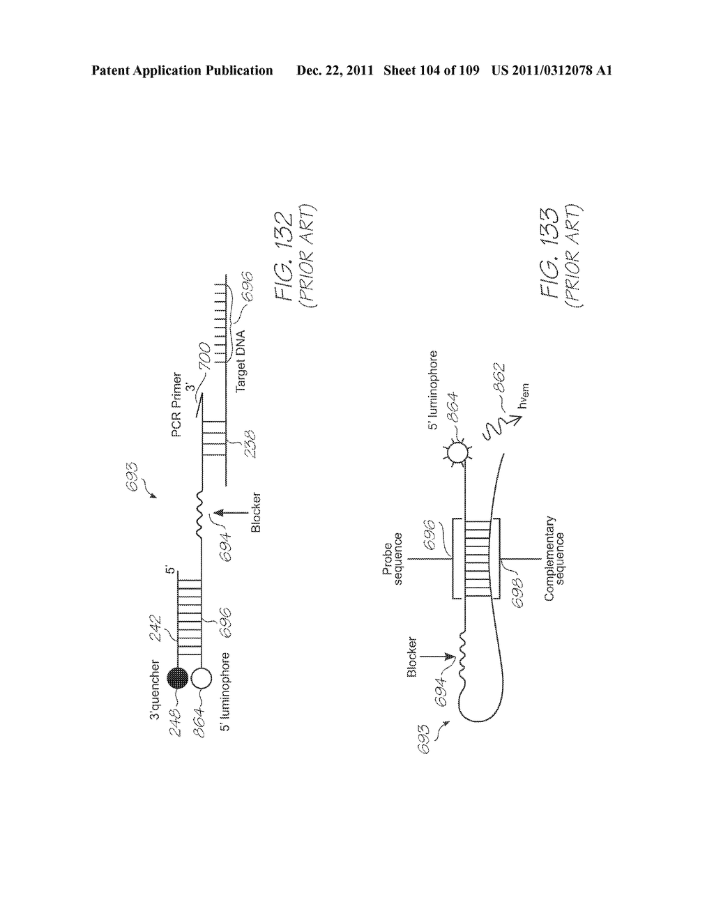 MICROFLUIDIC DEVICE FOR DETECTING TARGET NUCLEIC ACID SEQUENCES IN     MITOCHONDRIAL DNA - diagram, schematic, and image 105