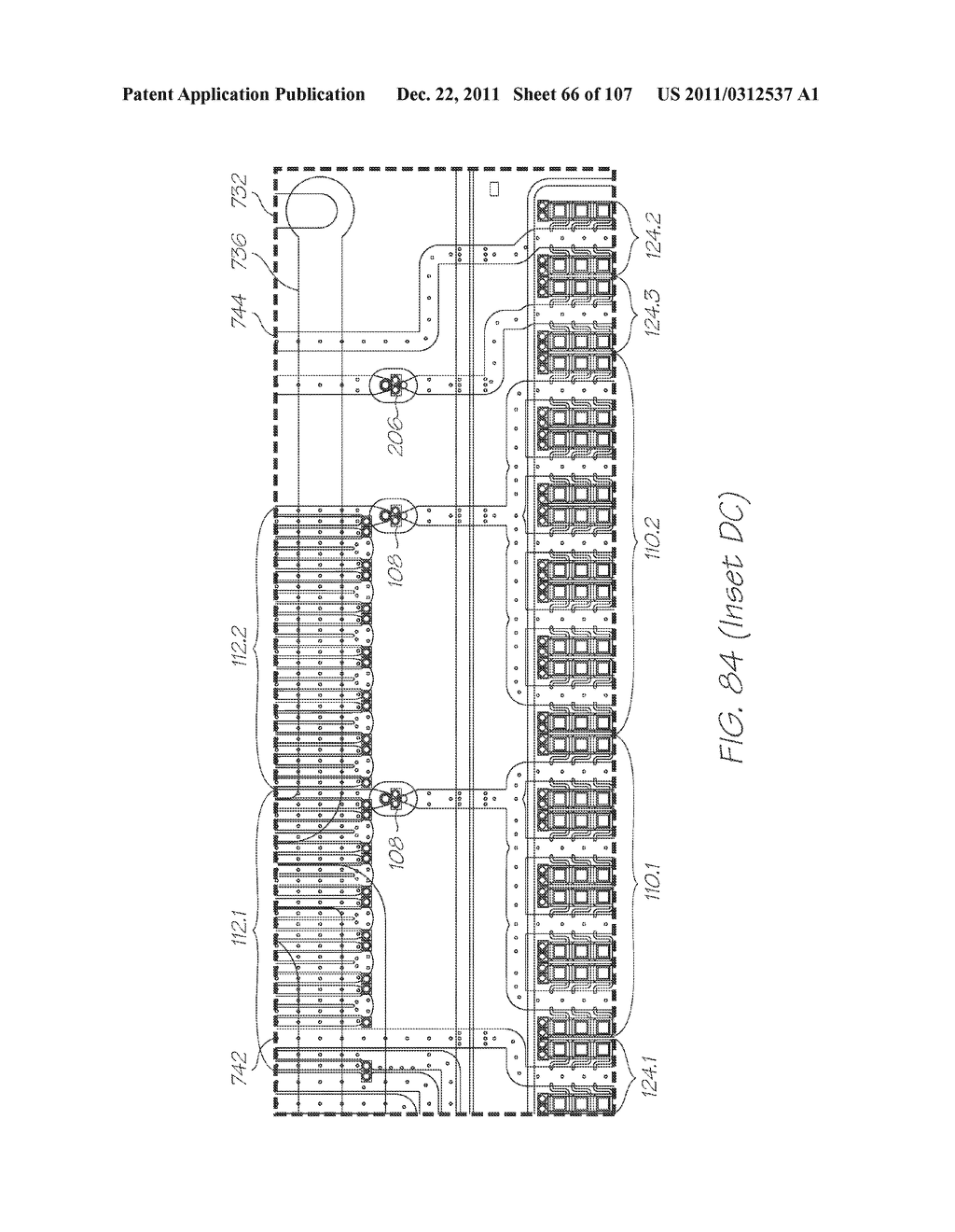 LOC DEVICE FOR AMPLIFYING AND DETECTING TARGET NUCLEIC ACID SEQUENCES     USING ELECTROCHEMILUMINESCENT RESONANT ENERGY TRANSFER, LINEAR PROBES     WITH COVALENTLY ATTACHED PRIMERS - diagram, schematic, and image 67
