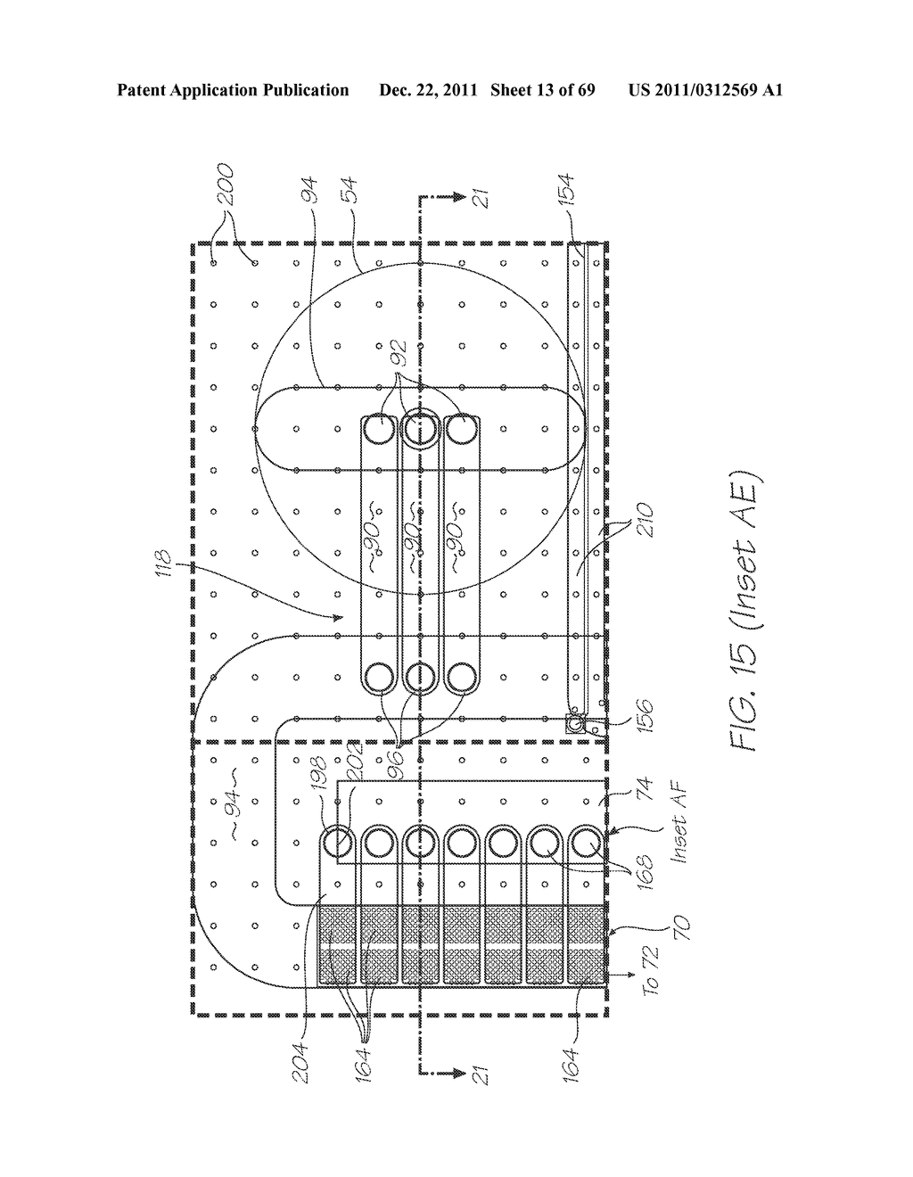 MICROFLUIDIC DEVICE WITH SMALL CROSS SECTIONAL AREA MICROCHANNEL - diagram, schematic, and image 14