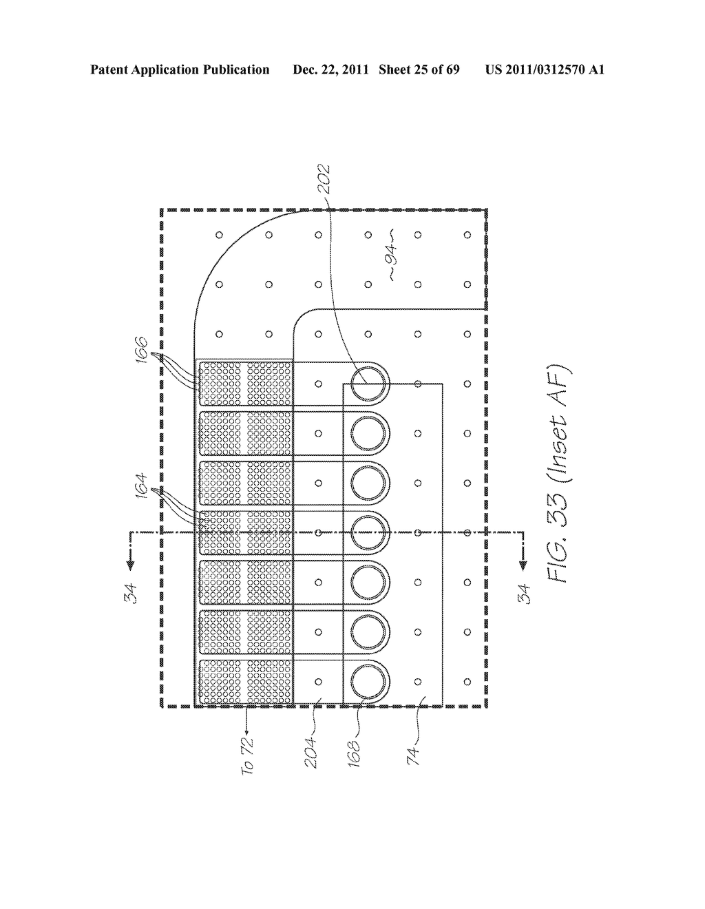 MICROFLUIDIC DEVICE FOR DETECTING TARGET NUCLEIC ACID SEQUENCES WITH     PROBES HAVING LONG FLUORESCENCE LIFETIME FLUOROPHORES - diagram, schematic, and image 26
