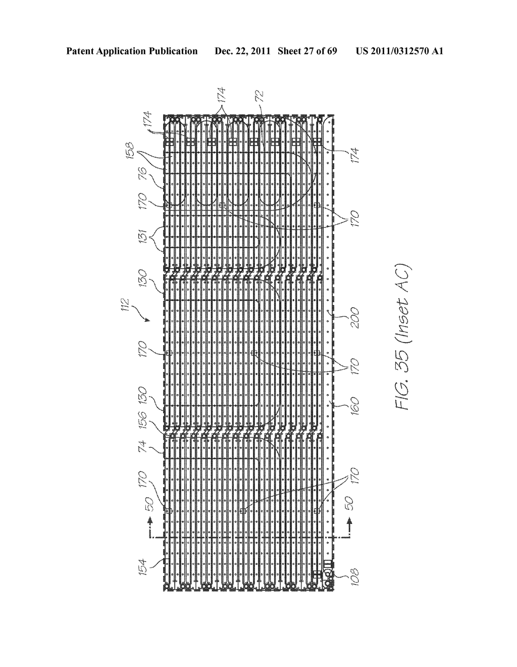 MICROFLUIDIC DEVICE FOR DETECTING TARGET NUCLEIC ACID SEQUENCES WITH     PROBES HAVING LONG FLUORESCENCE LIFETIME FLUOROPHORES - diagram, schematic, and image 28