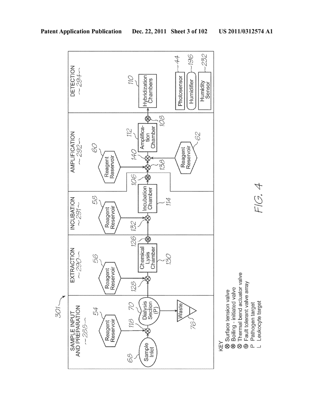 LOC DEVICE FOR PATHOGEN DETECTION, GENETIC ANALYSIS AND PROTEOMIC ANALYSIS     WITH DIALYSIS, CHEMICAL LYSIS, INCUBATION AND PARALLEL NUCLEIC ACID     AMPLIFICATION - diagram, schematic, and image 04