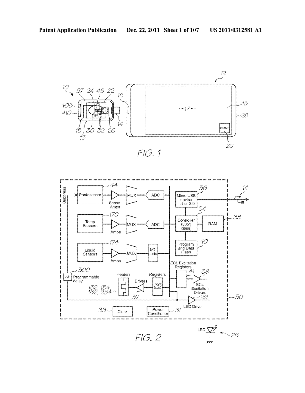 MICROFLUIDIC DEVICE WITH NUCLEIC ACID AMPLIFICATION CHAMBER HEATER BONDED     TO CHAMBER INTERIOR - diagram, schematic, and image 02