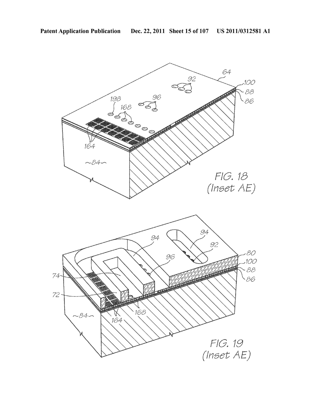 MICROFLUIDIC DEVICE WITH NUCLEIC ACID AMPLIFICATION CHAMBER HEATER BONDED     TO CHAMBER INTERIOR - diagram, schematic, and image 16