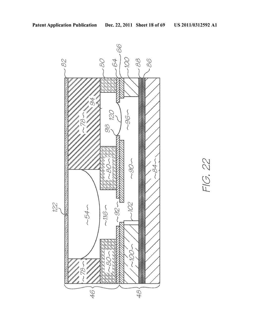 MICROFLUIDIC DEVICE WITH INCUBATION CHAMBER BETWEEN SUPPORTING SUBSTRATE     AND HEATER - diagram, schematic, and image 19