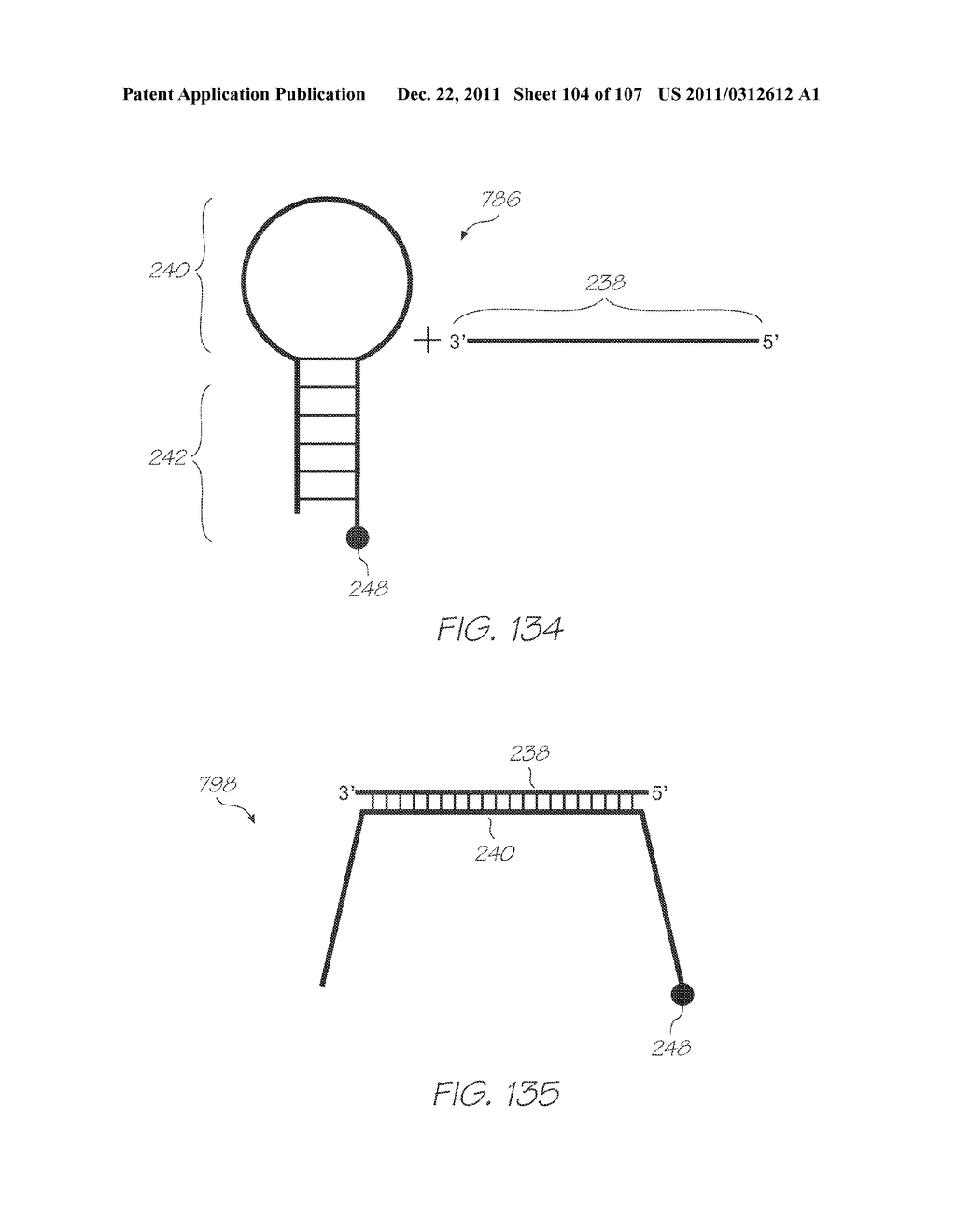 LOC DEVICE FOR ELECTROCHEMILUMINESCENT DETECTION OF TARGET SEQUENCES WITH     PROBES BETWEEN A WORKING ELECTRODE AND A PHOTOSENSOR - diagram, schematic, and image 105