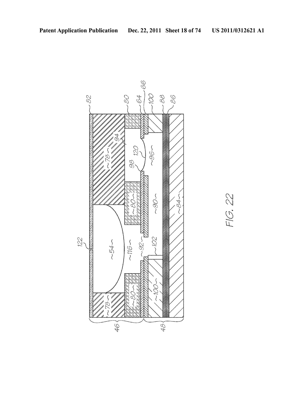APPARATUS FOR DISPENSING REAGENTS AND LOADING OLIGONUCLEOTIDE SPOTTING     DEVICES - diagram, schematic, and image 19