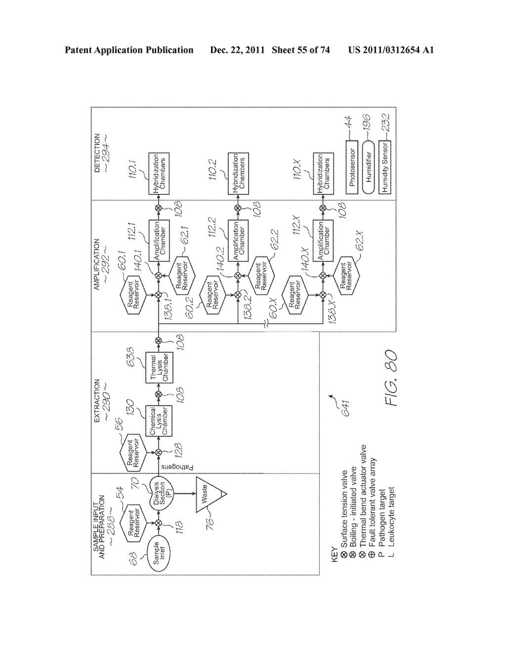 APPARATUS FOR LOADING OLIGONUCLEOTIDE SPOTTING DEVICES AND SPOTTING     OLIGONUCLEOTIDE PROBES - diagram, schematic, and image 56