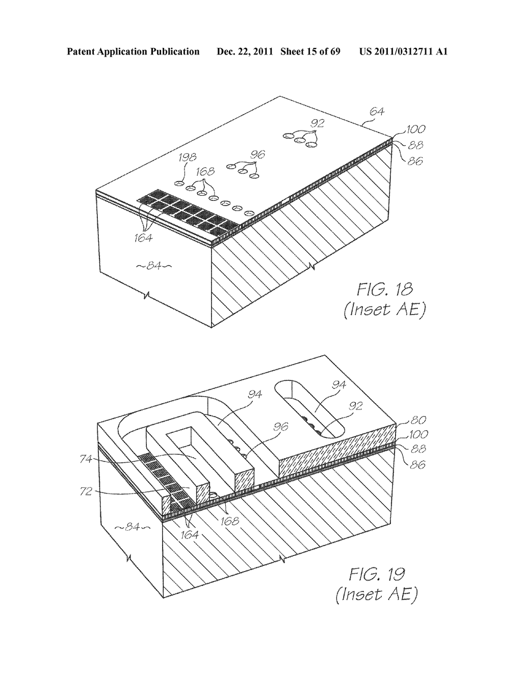MICROFLUIDIC DEVICE WITH CONTROLLABLE SHUNTS PERIPHERAL TO INTEGRATED     PHOTODIODES - diagram, schematic, and image 16