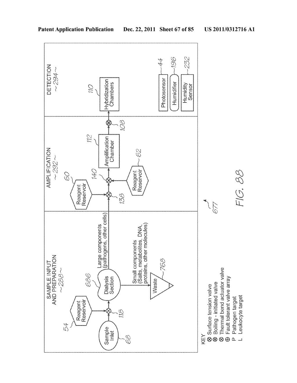 GENETIC ANALYSIS LOC FOR NUCLEIC ACID AMPLIFICATION USING AN ISOTHERMAL     REACTION - diagram, schematic, and image 68