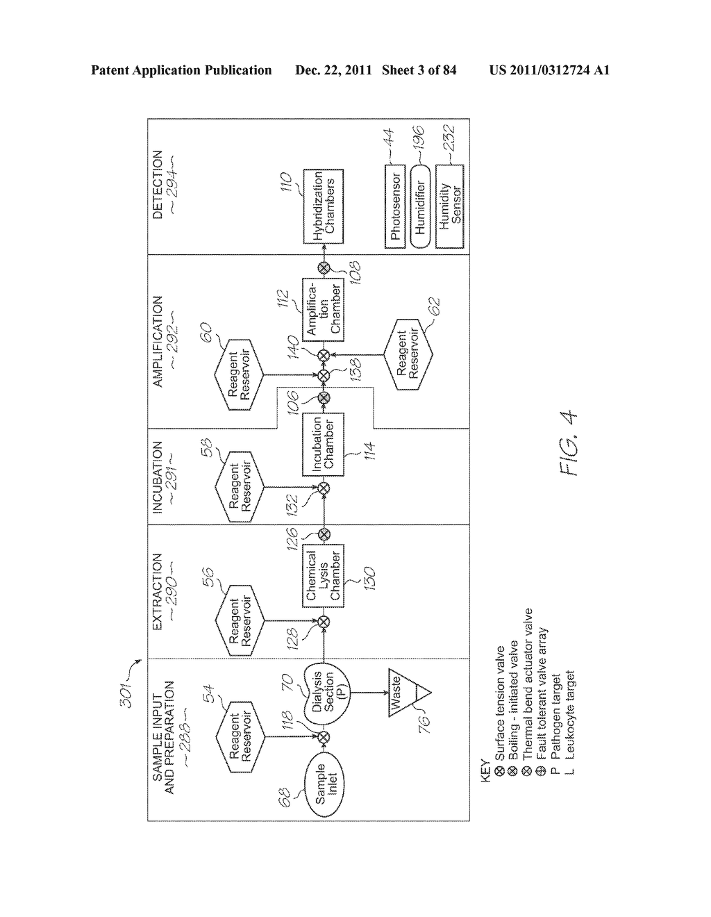 LOC DEVICE FOR PATHOGEN DETECTION AND GENETIC ANALYSIS WITH INCUBATION,     NUCLEIC ACID AMPLIFICATION AND PREHYBRIDIZATION FILTERING - diagram, schematic, and image 04