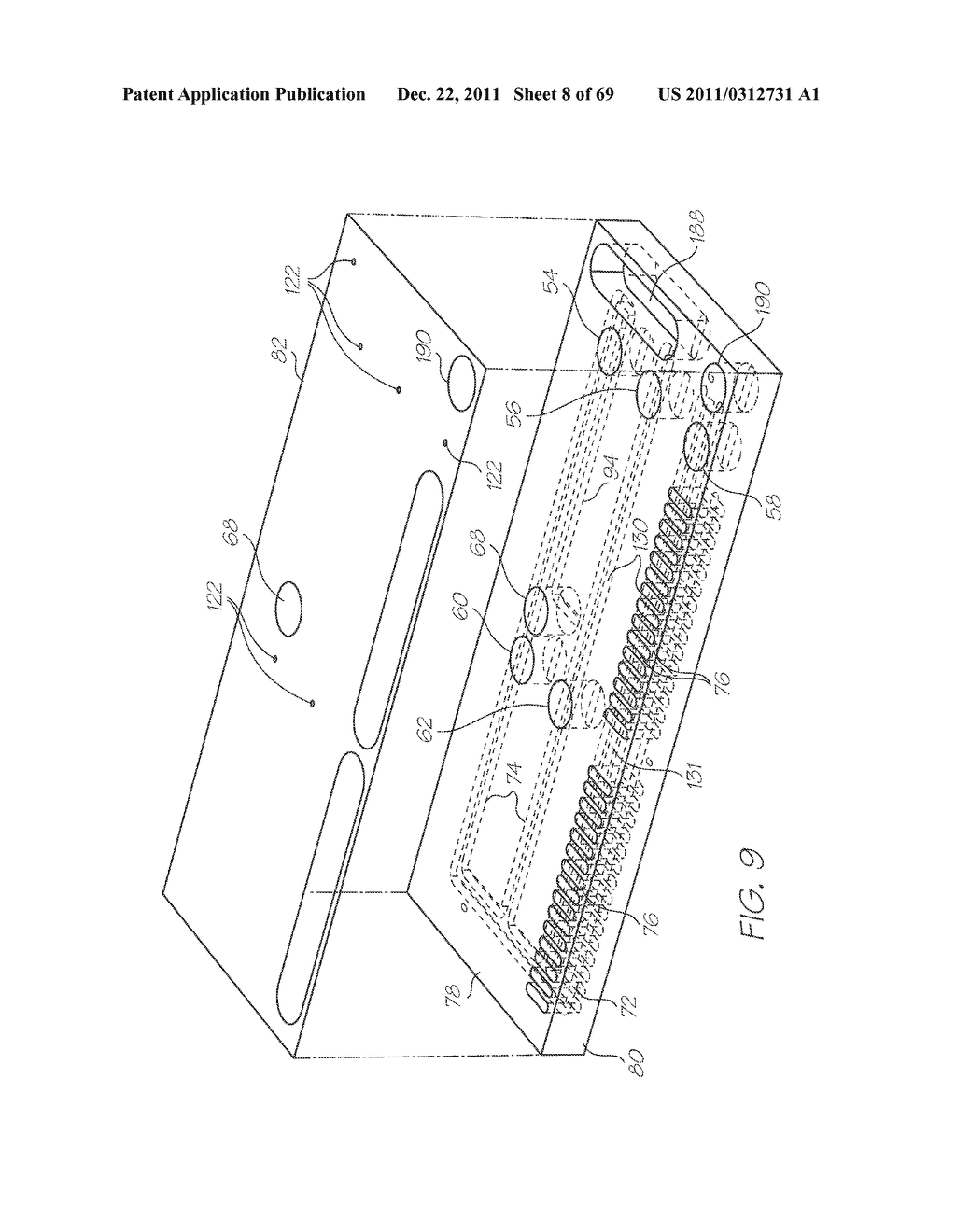 MICROFLUIDIC DEVICE WITH LARGE ANGLE OF COLLECTION OF EMISSION LIGHT - diagram, schematic, and image 09