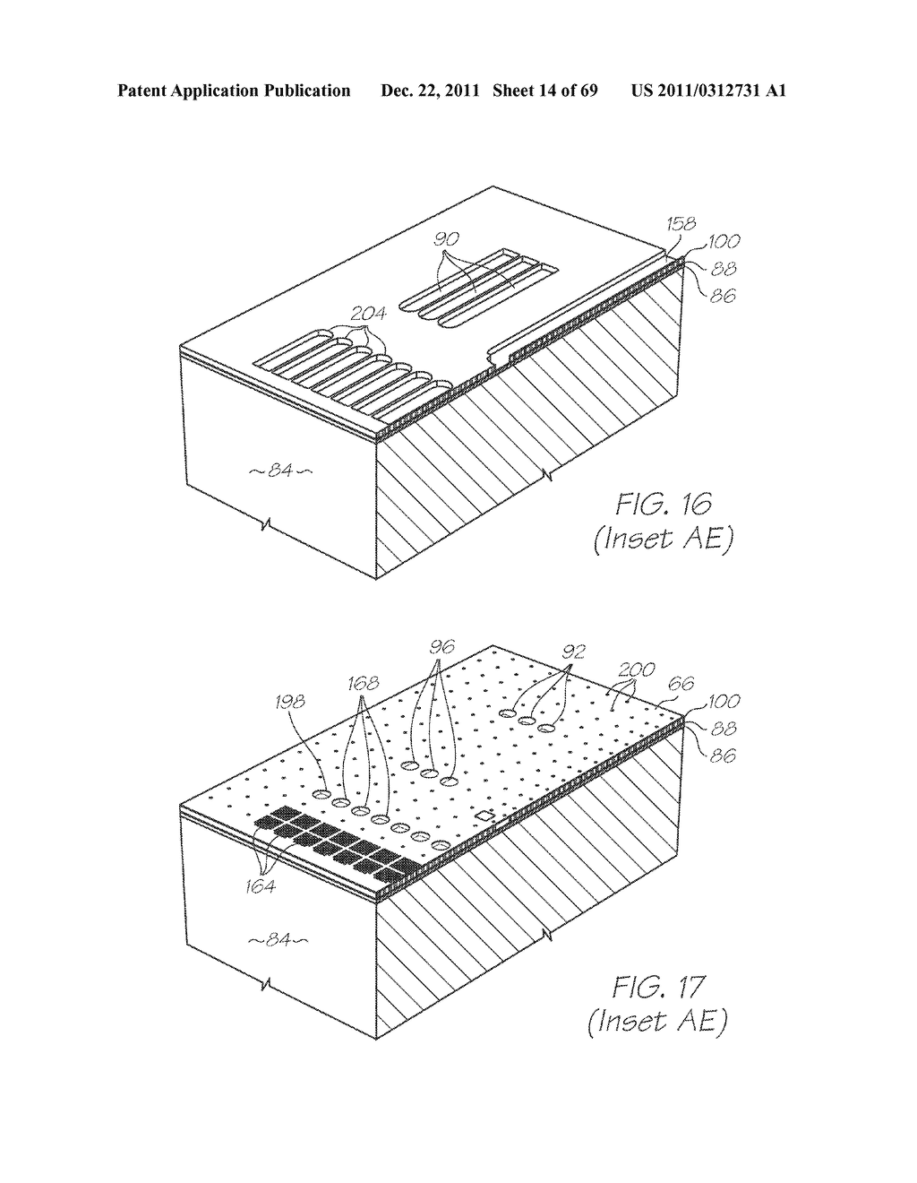 MICROFLUIDIC DEVICE WITH LARGE ANGLE OF COLLECTION OF EMISSION LIGHT - diagram, schematic, and image 15