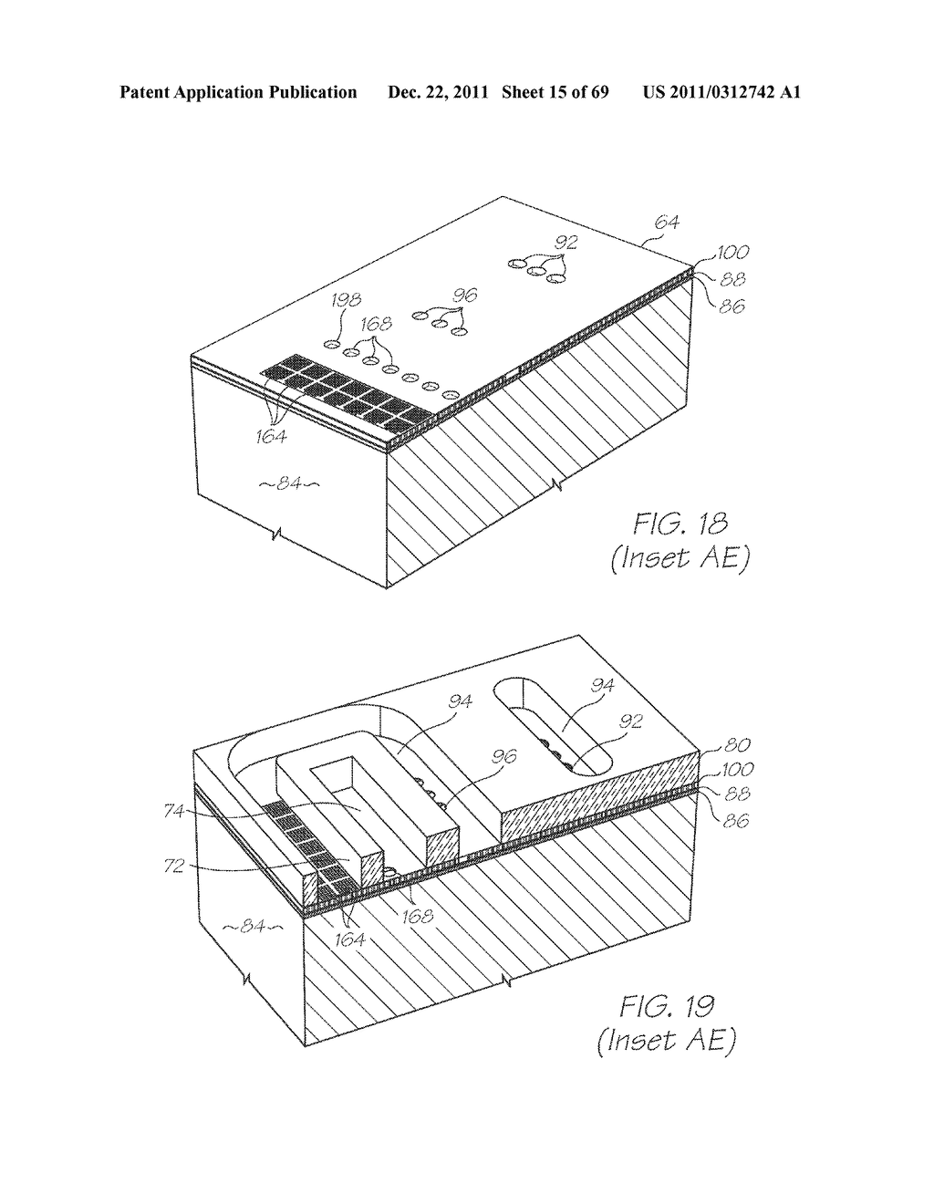 SINGLE-USE MICROFLUIDIC DEVICE - diagram, schematic, and image 16