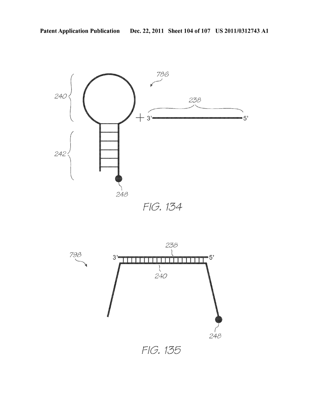 LOC DEVICE FOR DETECTION OF TARGET NUCLEIC ACID SEQUENCES USING ELECTRODES     CONFIGURED FOR ELECTROCHEMILUMINESCENCE OF LUMINOPHORES WITHOUT A     COREACTANT - diagram, schematic, and image 105