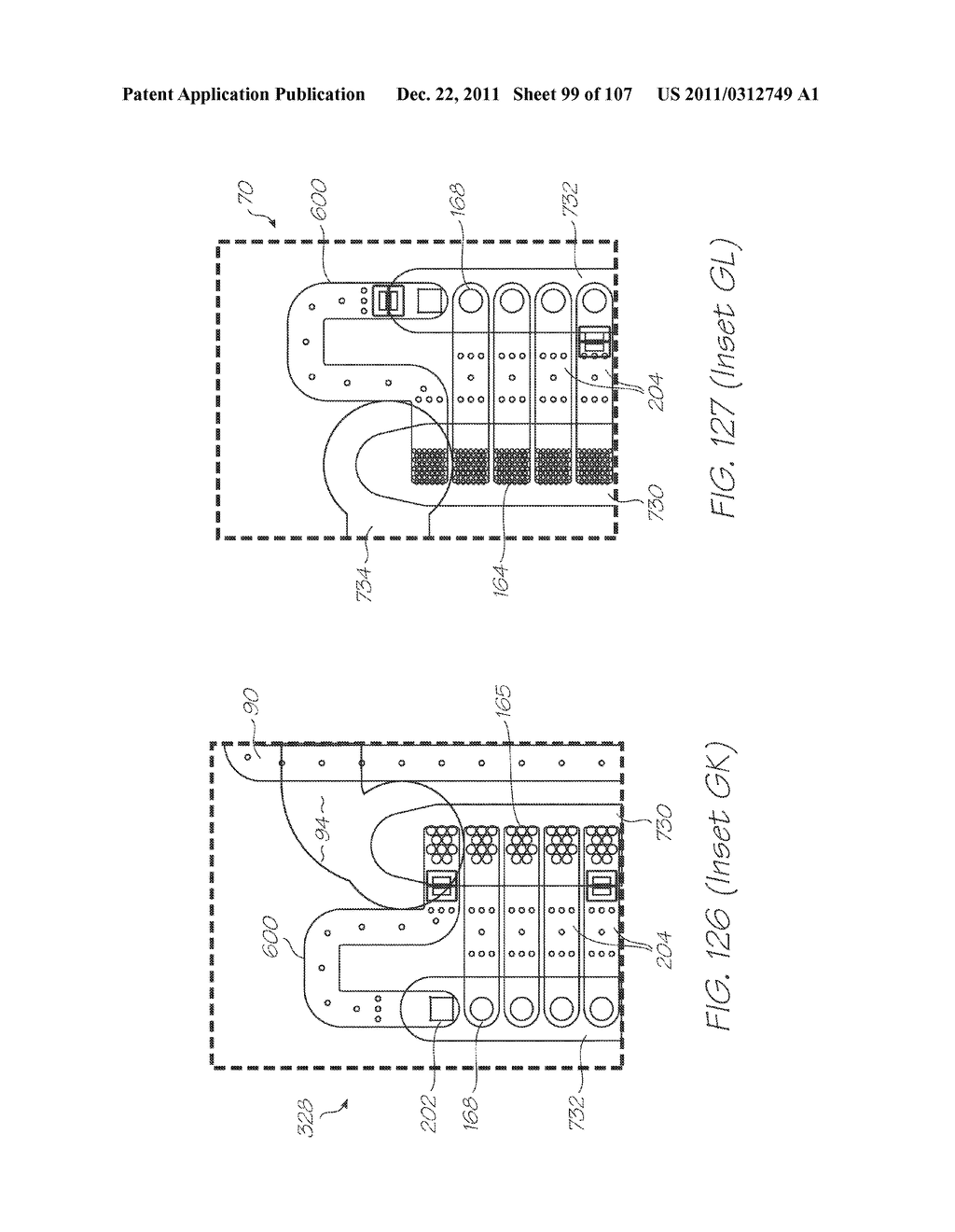 MICROFLUIDIC DEVICE WITH THERMAL LYSIS SECTION - diagram, schematic, and image 100
