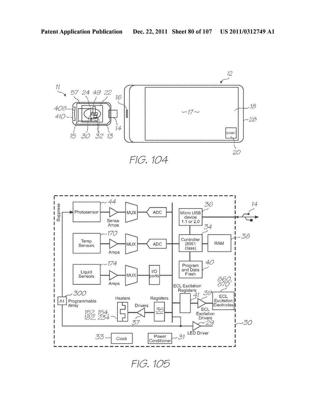 MICROFLUIDIC DEVICE WITH THERMAL LYSIS SECTION - diagram, schematic, and image 81