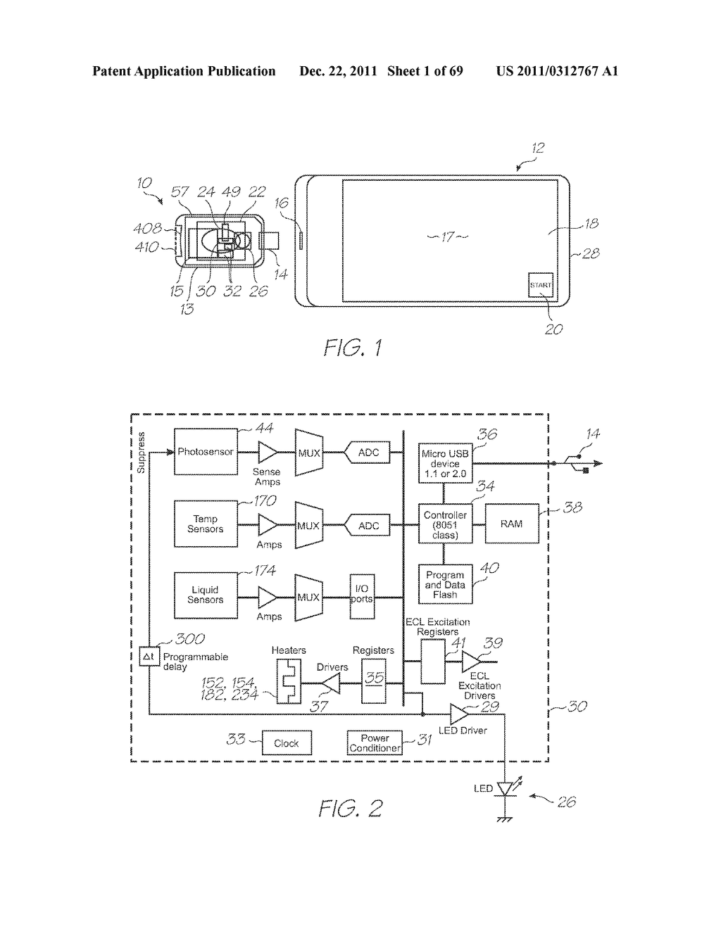 MICROFLUIDIC DEVICE WITH INCUBATION SECTION HAVING TEMPERATURE FEEDBACK - diagram, schematic, and image 02