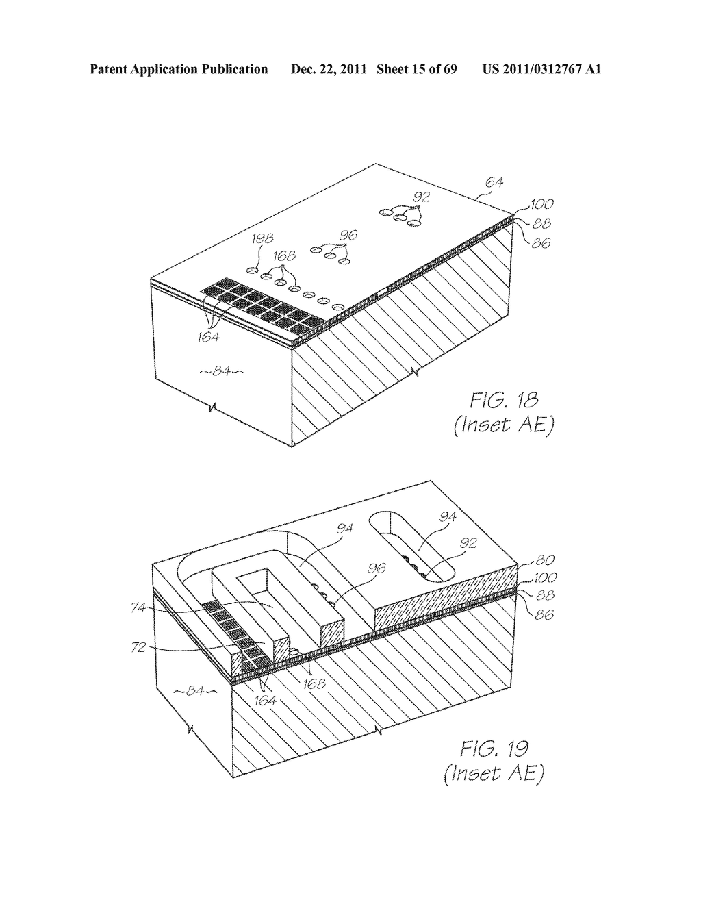 MICROFLUIDIC DEVICE WITH INCUBATION SECTION HAVING TEMPERATURE FEEDBACK - diagram, schematic, and image 16