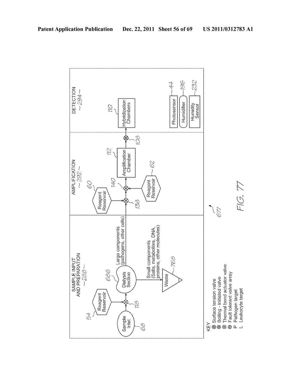 GENETIC ANALYSIS LOC WITH HYBRIDIZATION ARRAY WITH NEGATIVE CONTROL     COMPRISING EMPTY CHAMBERS - diagram, schematic, and image 57