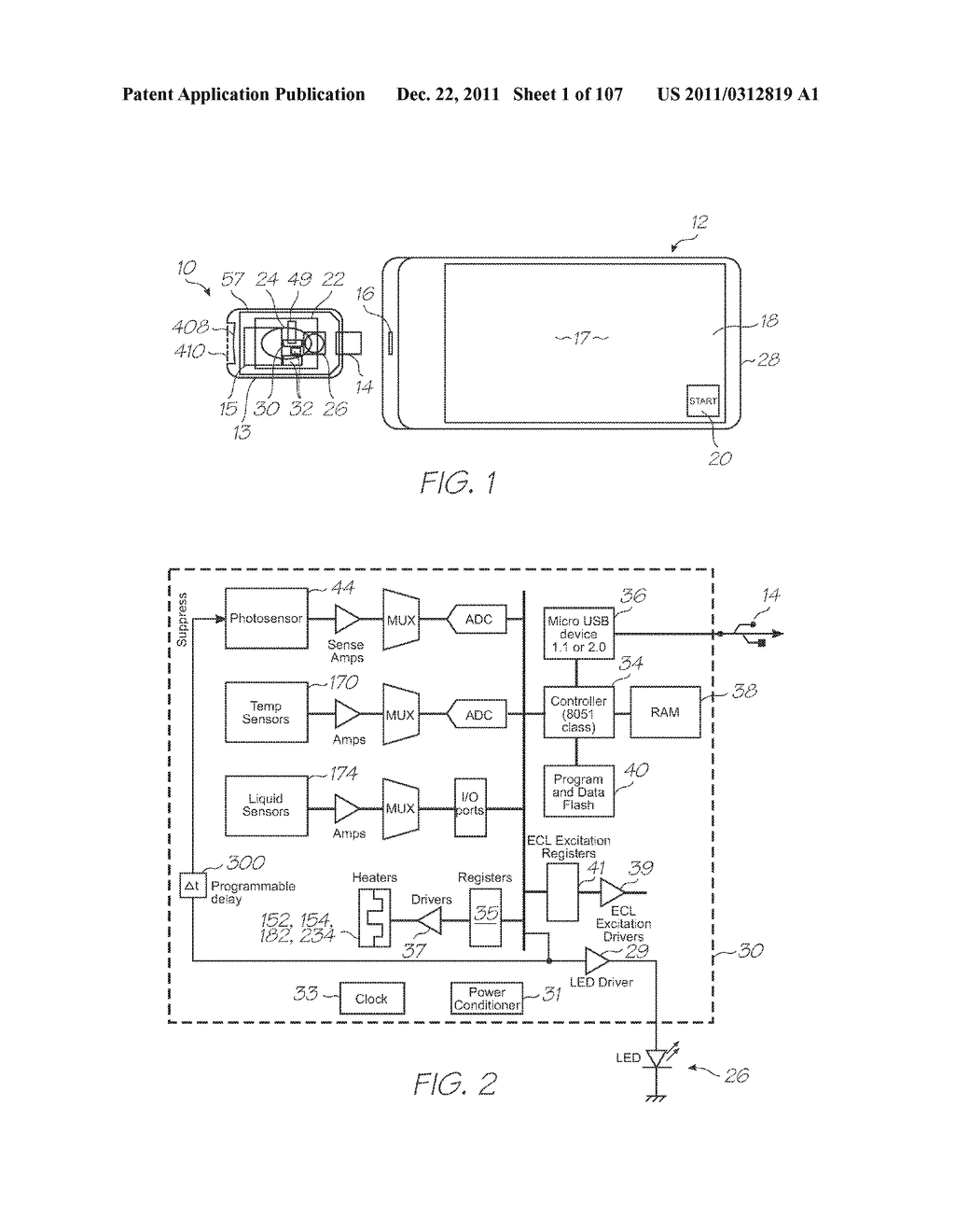 LOC DEVICE FOR DETECTING TARGET NUCLEIC ACID SEQUENCES USING     ELECTROCHEMILUMINESCENCE OF A LUMINOPHORE IN THE PRESENCE OF AN     ELECTROCHEMICAL COREACTANT - diagram, schematic, and image 02