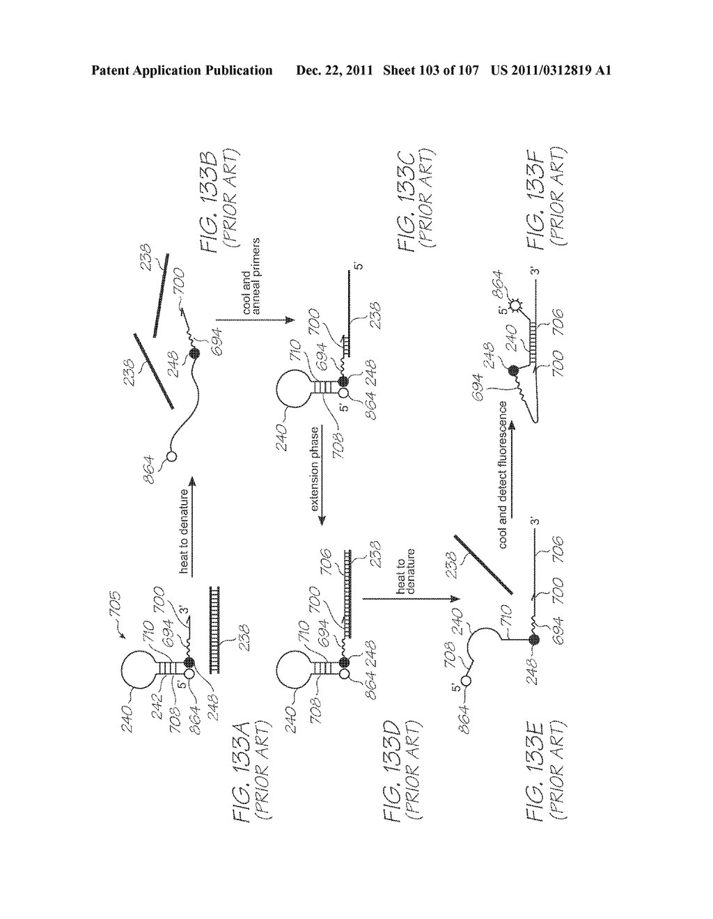 LOC DEVICE FOR DETECTING TARGET NUCLEIC ACID SEQUENCES USING     ELECTROCHEMILUMINESCENCE OF A LUMINOPHORE IN THE PRESENCE OF AN     ELECTROCHEMICAL COREACTANT - diagram, schematic, and image 104