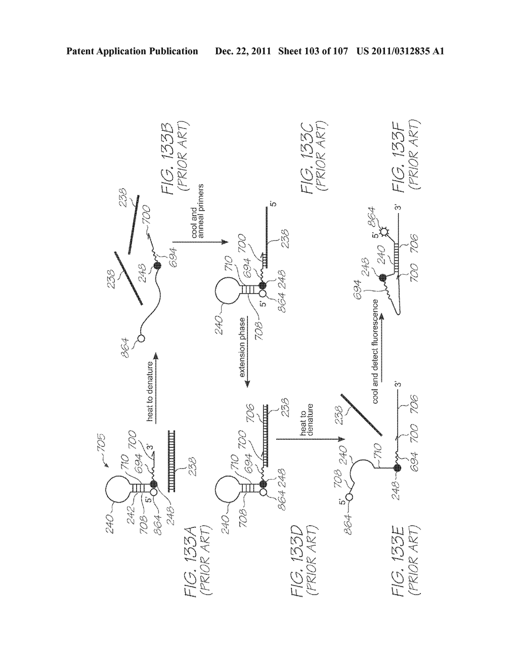 GENETIC ANALYSIS LOC DEVICE WITH ELECTROCHEMILUMINESCENT PROBES AND     INTEGRATED PHOTOSENSOR FOR DETECTION OF TARGET SEQUENCES - diagram, schematic, and image 104