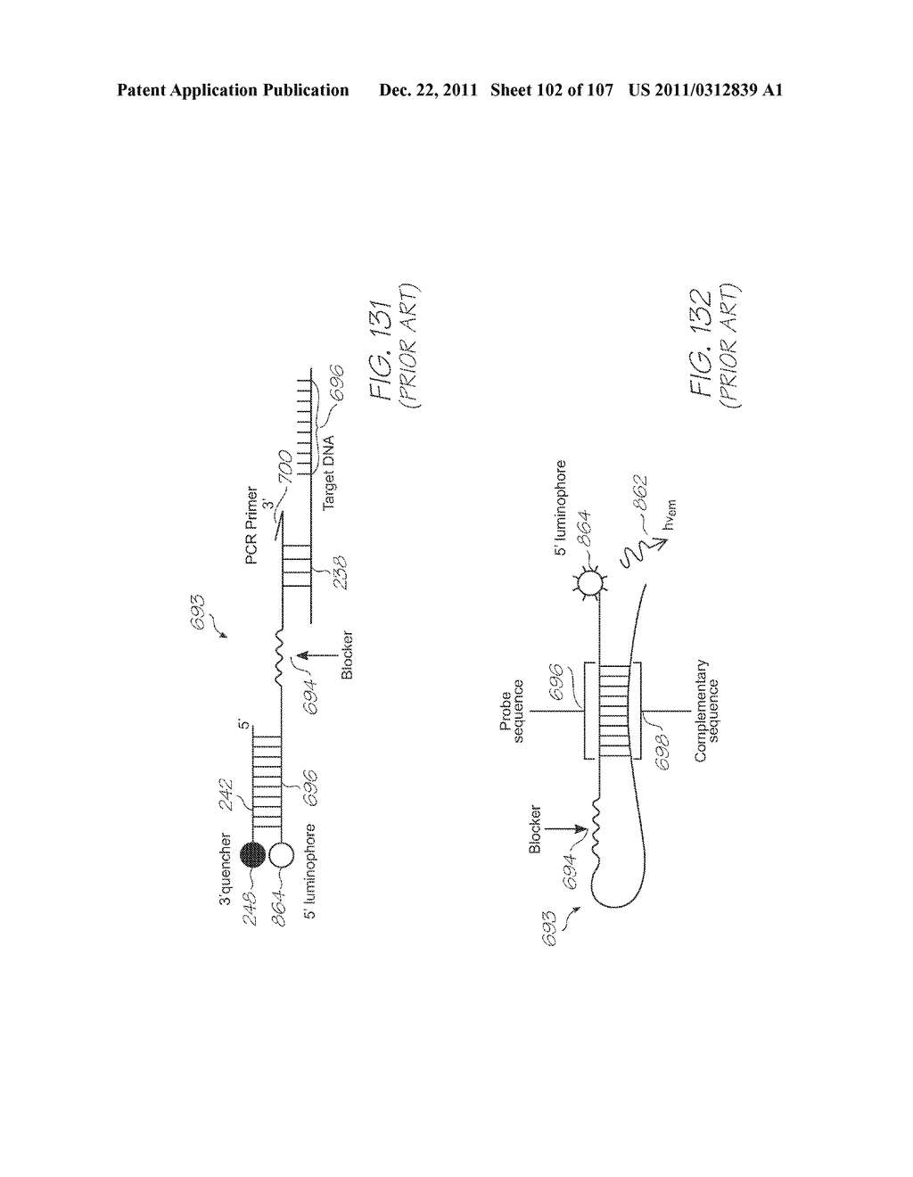 GENETIC ANALYSIS LOC DEVICE FOR ELECTROCHEMILUMINESCENT DETECTION OF     TARGET SEQUENCES WITH WORKING ELECTRODE IN CONTACT WITH PHOTOSENSOR - diagram, schematic, and image 103