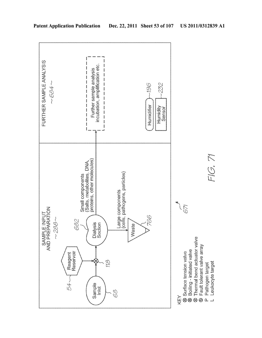 GENETIC ANALYSIS LOC DEVICE FOR ELECTROCHEMILUMINESCENT DETECTION OF     TARGET SEQUENCES WITH WORKING ELECTRODE IN CONTACT WITH PHOTOSENSOR - diagram, schematic, and image 54