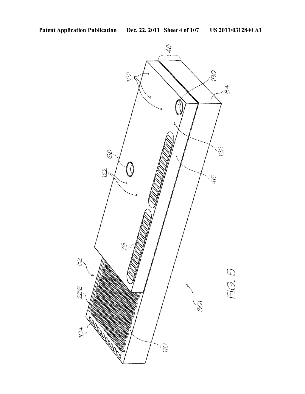 MICROFLUIDIC DEVICE WITH SAMPLE INLET, ELECTROCHEMILUMINESCENT PROBES AND     INTEGRATED PHOTOSENSOR FOR DETECTION OF TARGET SEQUENCES - diagram, schematic, and image 05