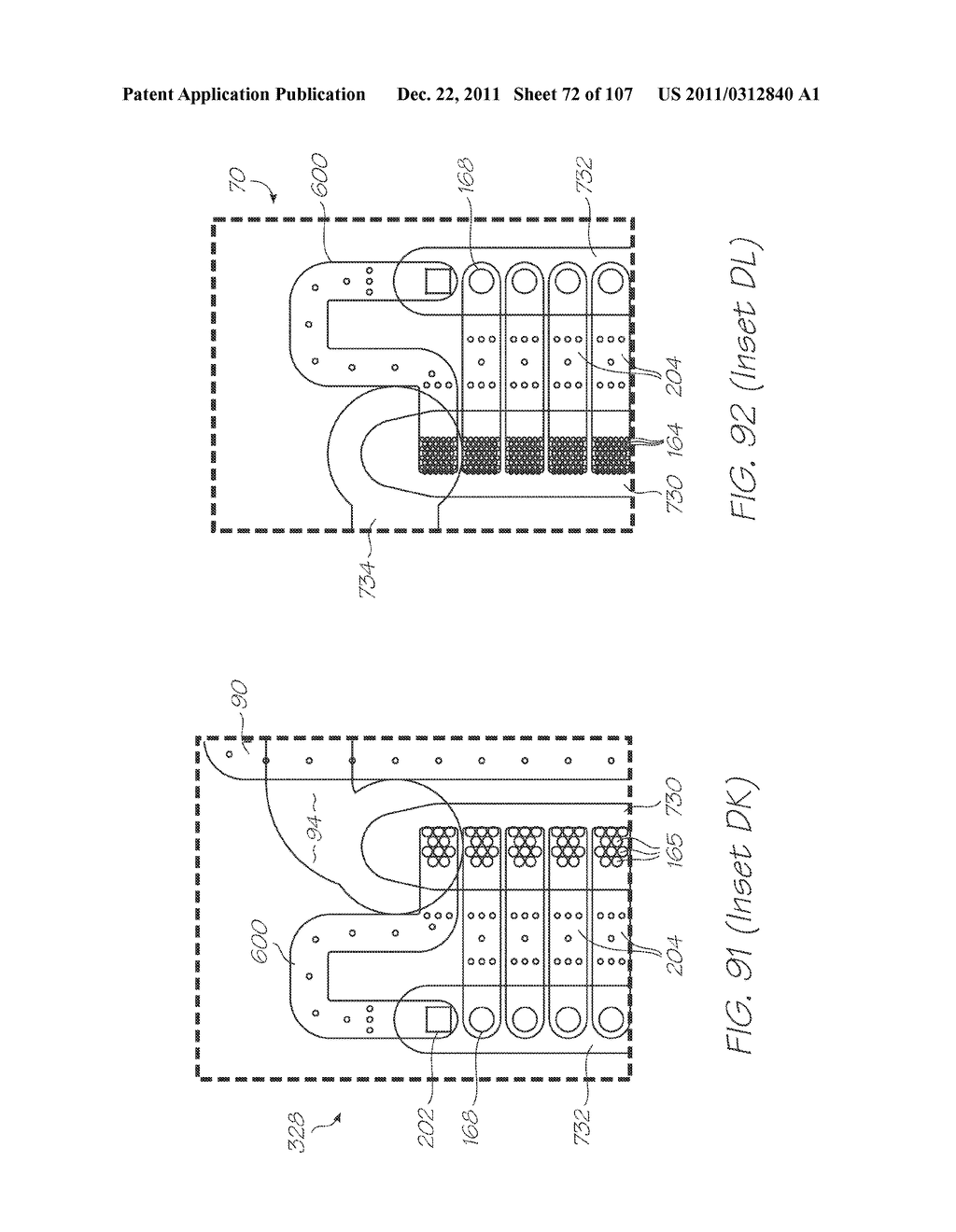 MICROFLUIDIC DEVICE WITH SAMPLE INLET, ELECTROCHEMILUMINESCENT PROBES AND     INTEGRATED PHOTOSENSOR FOR DETECTION OF TARGET SEQUENCES - diagram, schematic, and image 73