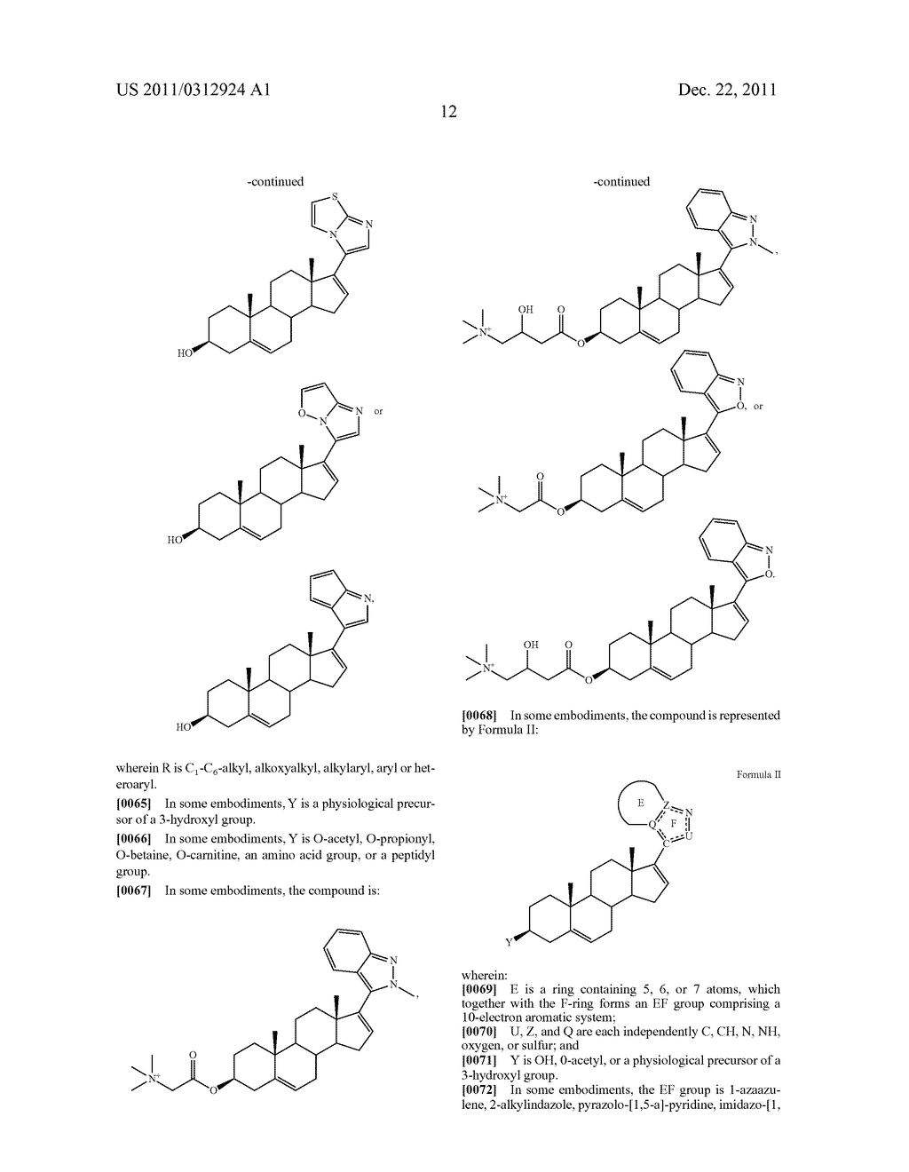 NOVEL STEROIDAL CYP17 INHIBITORS/ANTIANDROGENS - diagram, schematic, and image 13