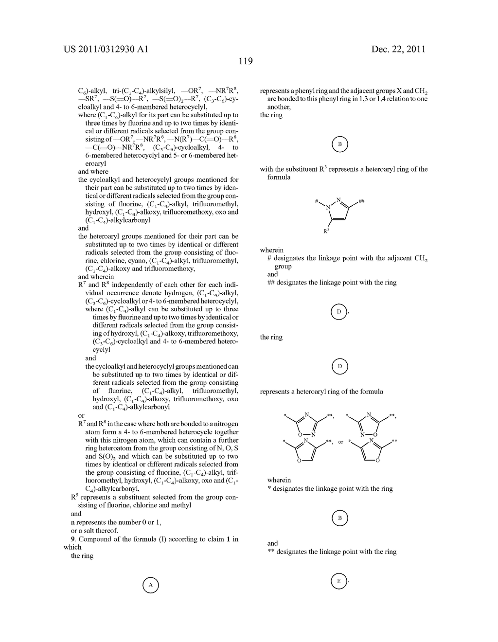 Aryl compounds with aminoalkyl substituents and their use - diagram, schematic, and image 120