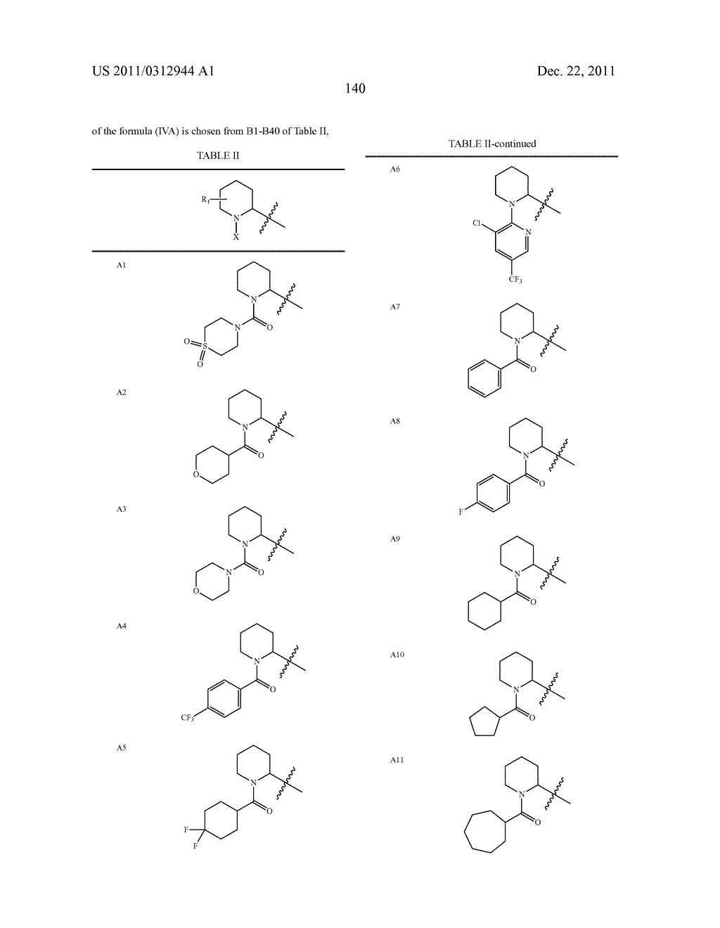Heterocyclic Compounds Which Modulate The CB2 Receptor - diagram, schematic, and image 141