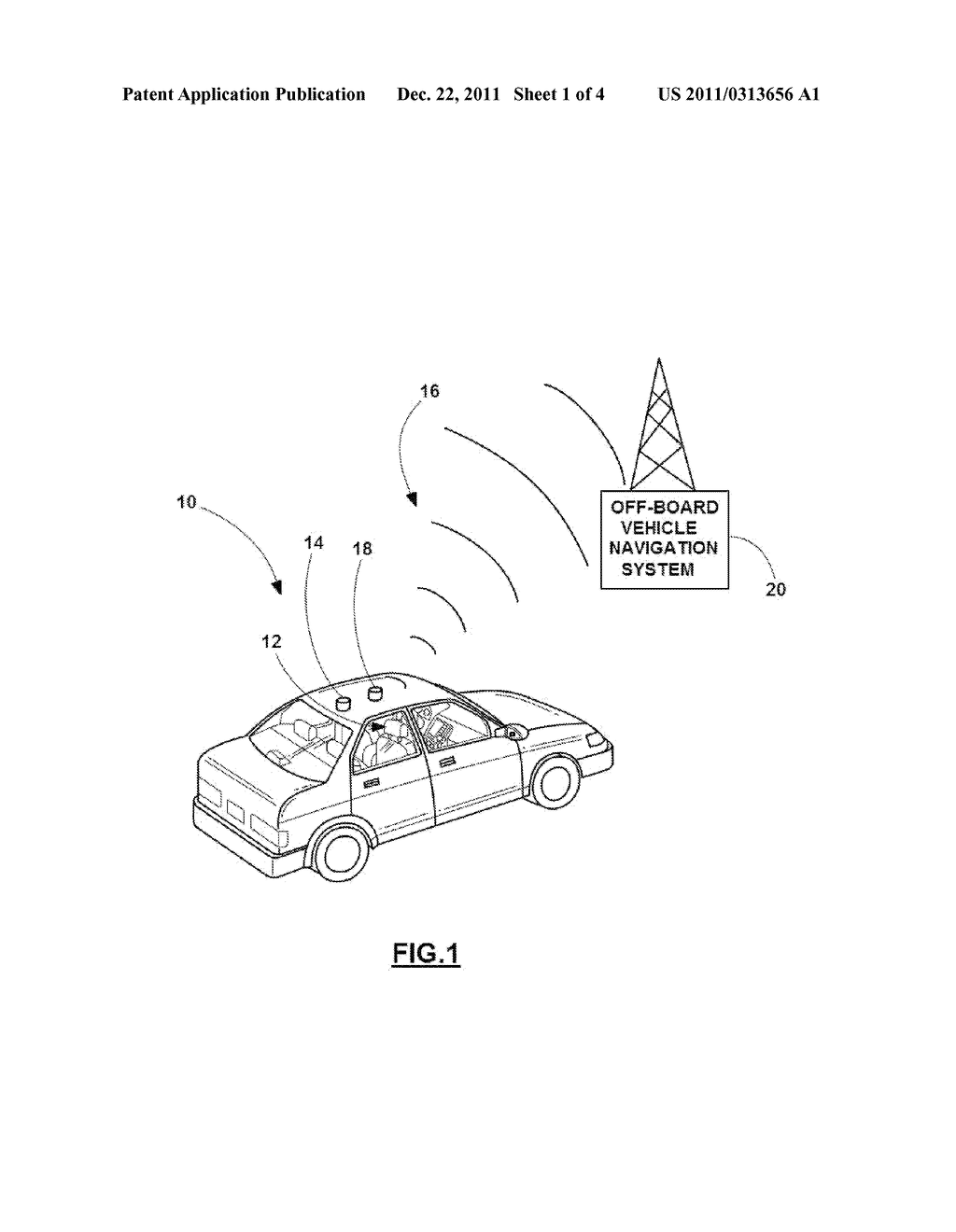 SYSTEM AND METHOD FOR TRANSFERRING VEHICLE OPERATING DATA TO AN EXTERNAL     NAVIGATION SYSTEM - diagram, schematic, and image 02