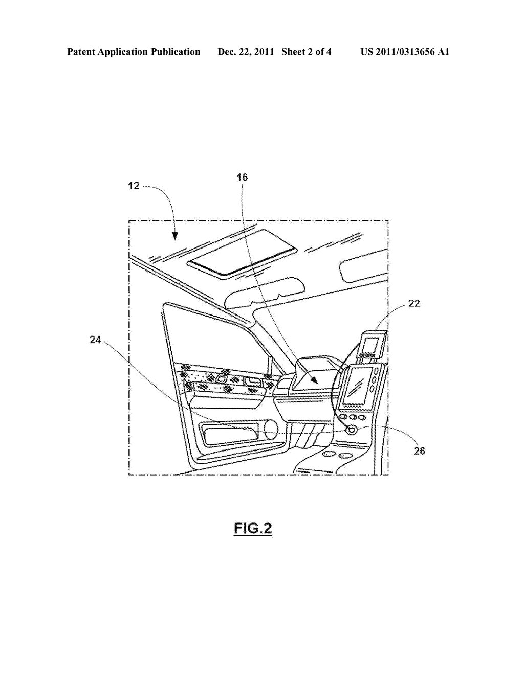 SYSTEM AND METHOD FOR TRANSFERRING VEHICLE OPERATING DATA TO AN EXTERNAL     NAVIGATION SYSTEM - diagram, schematic, and image 03