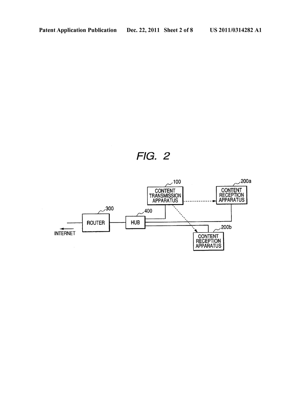 CONTENT TRANSMISSION APPARATUS, CONTENT RECEPTION APPARATUS AND CONTENT     TRANSMISSION METHOD - diagram, schematic, and image 03