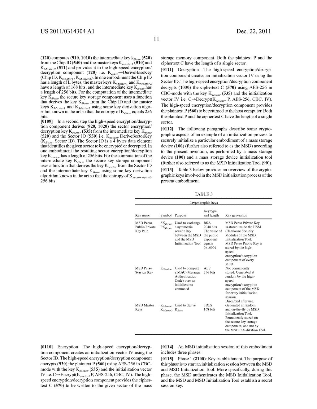 MASS STORAGE DEVICE MEMORY ENCRYPTION METHODS, SYSTEMS, AND APPARATUS - diagram, schematic, and image 20