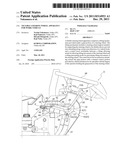Tiltable Steering Wheel Apparatus for Work Vehicle diagram and image