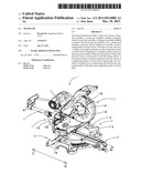 MITER SAW diagram and image