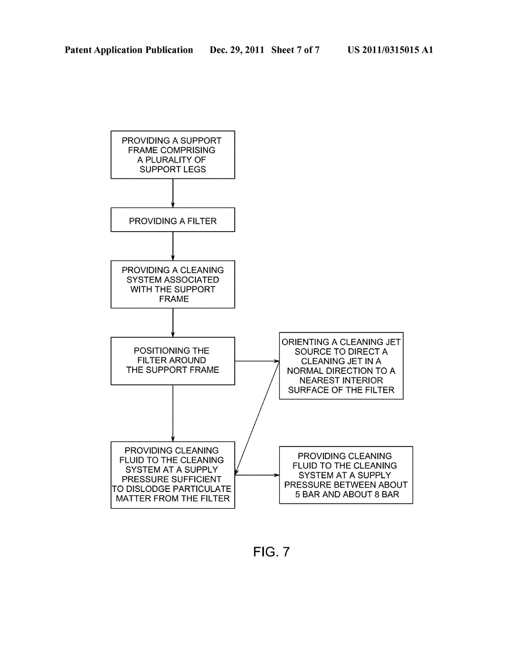 SYSTEM AND METHOD FOR REMOVAL OF PARTICULATE MATTER FROM A FILTER MEDIA - diagram, schematic, and image 08