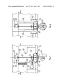 SERVICE SPACE FOR A RETRACTABLE PROPULSION DEVICE OR CORRESPONDING diagram and image