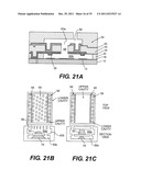 PLANAR CAVITY MEMS AND RELATED STRUCTURES, METHODS OF MANUFACTURE AND     DESIGN STRUCTURES diagram and image